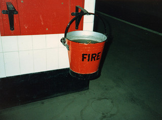 What does a bucket have to do with the Gentile church?
